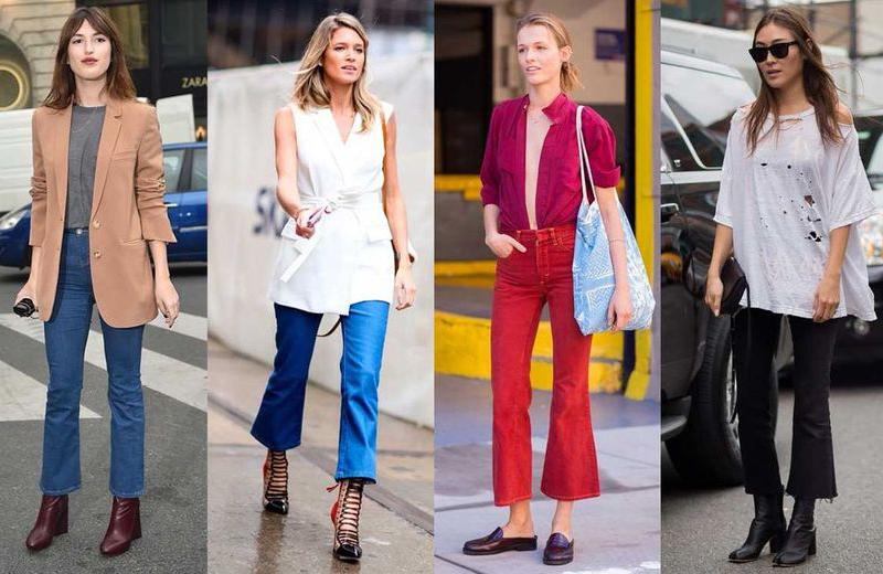 La più bella del Reame | Flare e Cropped : i pantaloni che hanno caratterizzato la PE 2017