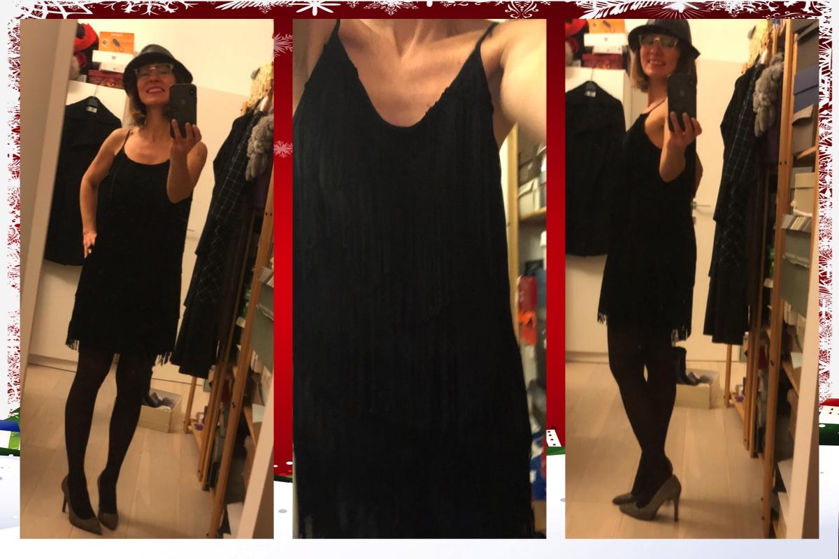 Outfit per l'ultimo dell'anno look Lisa Tenuta