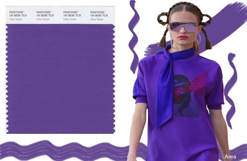ultra violet il colore della nuova stagione con Lisa Tenuta consulente d'immagine