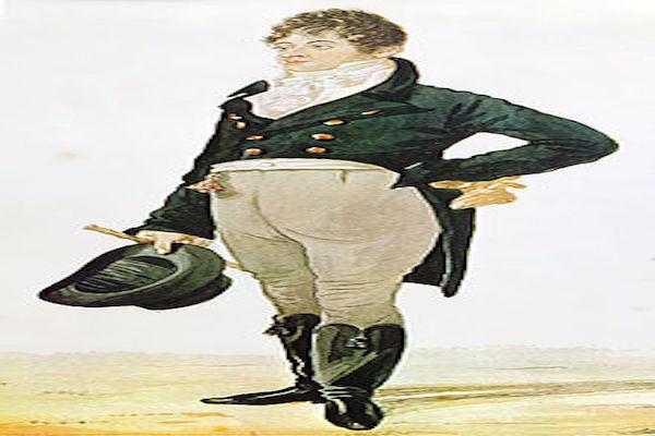 Lord Brummell esempio di eleganza - caricatura | La più Bella del Reame
