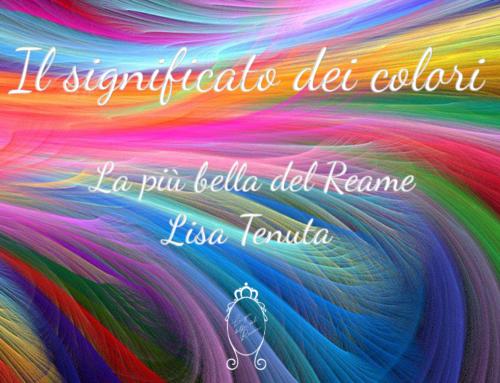 Il significato dei colori …