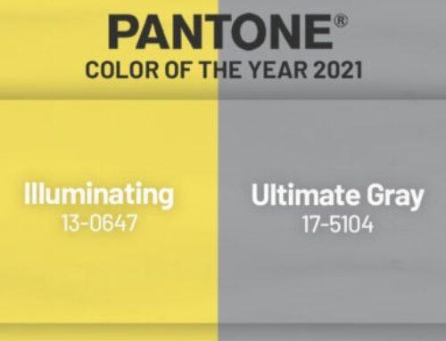 Illuminating Yellow e Ultimate Grey: la coppia Pantone per il 2021