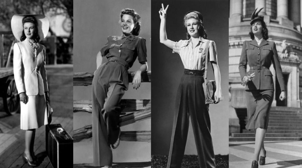 1940 dal militare all'eleganza I Lisa Tenuta Consulente d'immagine